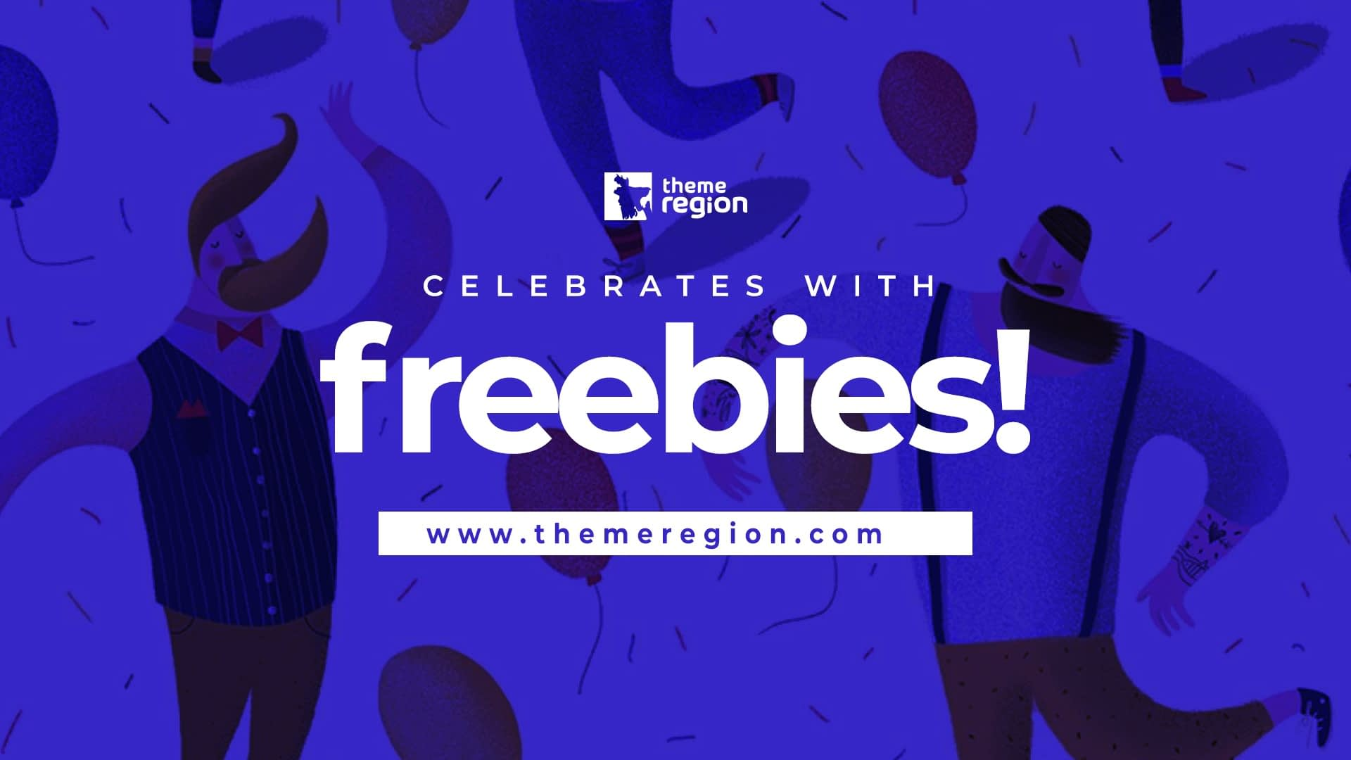 ThemeRegion comes with a new design; celebrates with freebies!