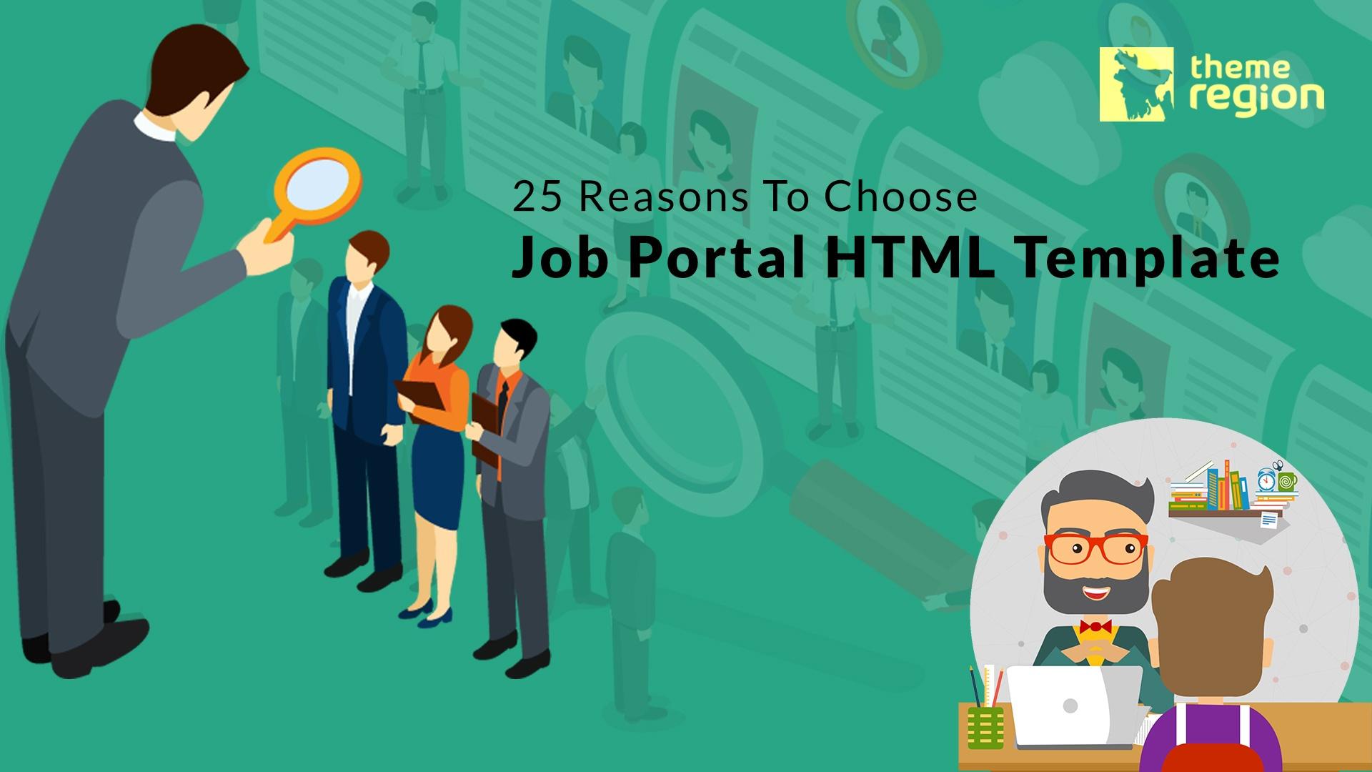 25 Reasons To Choose Job Portal HTML Template- Don't Miss The Bonus Part