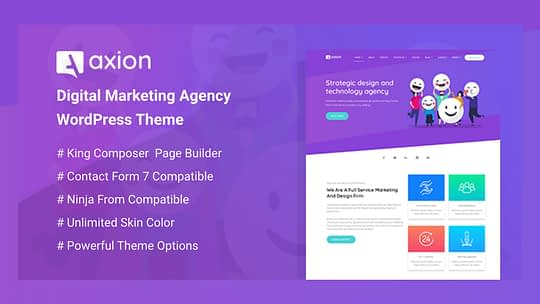 Digital Marketing Agency WordPress Theme Review