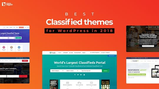 Best Classified themes for WordPress in 2019